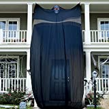 JOYIN 14.1Ft Halloween Ghost Hanging Decoration with Light-Up Eyes, Giant Hanging Grim Reaper for Scary Halloween Hanging Decor for Outdoor/Indoor Halloween Ghost Decoration