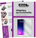 dipos I 2X Schutzfolie klar kompatibel mit Meizu M6T Folie Bildschirmschutzfolie
