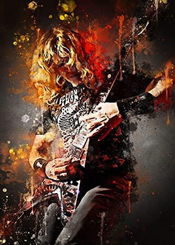 Dave Mustaine Megadeth - Arte de pared para sala de estar y...
