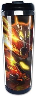 Kamen Rider Cross-Z Magma - Volcanic Dragon Z Vacuum Insulated Stainless Steel Tumbler Coffee Travel Mug 13.5oz