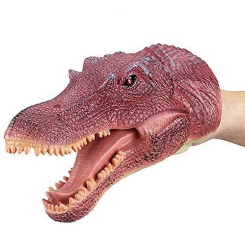 HUOQILIN Stofftiere Handpuppe Spielzeug Tierköpfe Weichen Mund Eltern-Kind Interagieren Interaktive Spiele (Color : N)
