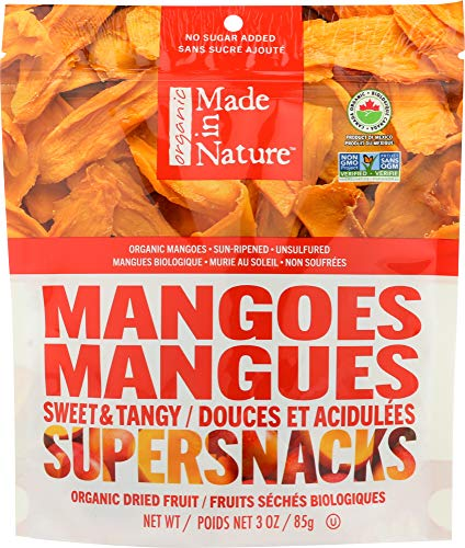 Made In Nature (NOT A CASE) Organic Mangoes Dried & Unsulfured