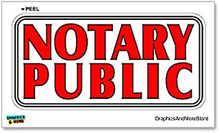 Best notary public window sign Reviews