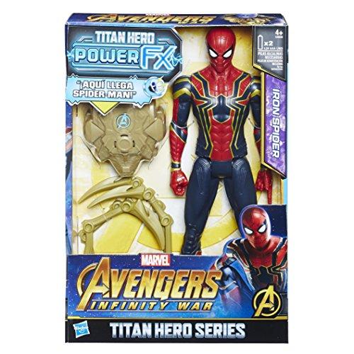 Avengers Figura de Acción Power Pack Iron Spider, 12 Pulgadas
