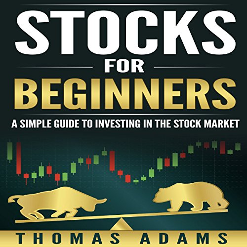 Stocks for Beginners audiobook cover art