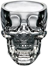 Tvoip 2PCS Kitchen & Dining Entertaining Glassware Drinkware Old Fashioned Gl Skull Cup for Serving Scotch Whiskey Mixed D...