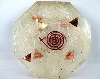 Seleniet Achthoek Vastu Plaat Energie Generator Crystal Edelstenen Unieke Zeldzame Wetenschap Bouw Vedische Astrologie 40 ...