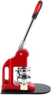 Cocoarm Machine à Badges Press Button Cutter Circulaire Découpeur Circulaire avec 1000 Sets de Badges 25/32/58mm (58mm)