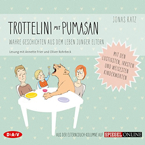 Trottelini mit Pumasan audiobook cover art