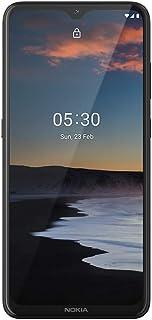 Smartphone Nokia 5.3 128GB Dual SIM 4GB RAM Tela 6,55 Pol. Câmera Quádrupla com IA + Lentes Ultra-Wide Carvão NK007