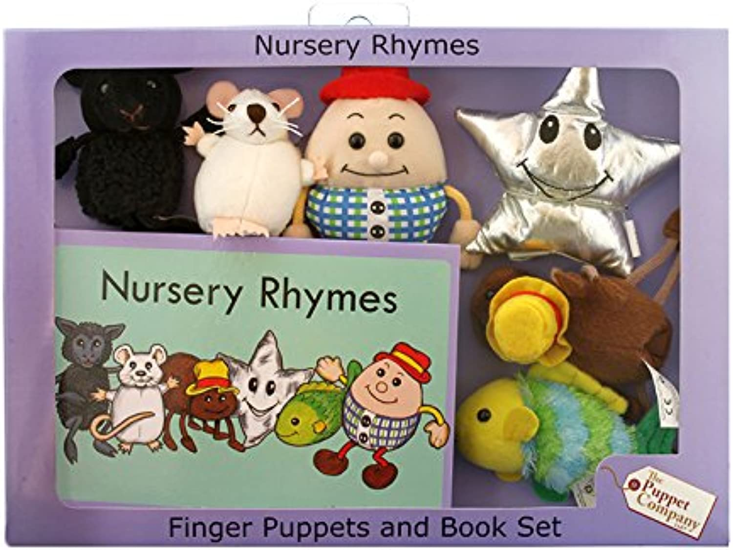 The Puppet Company PC007905 Traditional Story Sets Nursery Rhymes