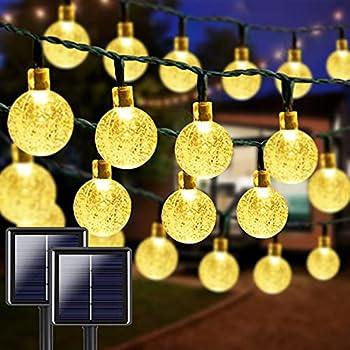 Best outdoor string solar lights Reviews