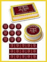 Texas A&M University - Edible Cupcake Toppers - 1.8
