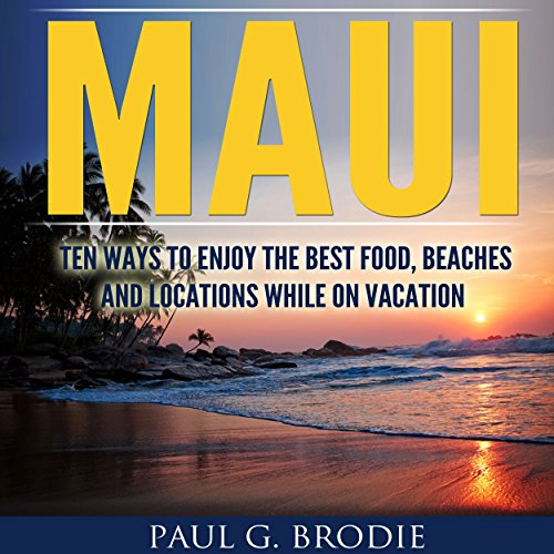 Maui audiobook cover art