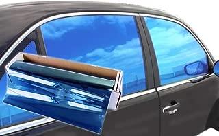 JNK NETWORKS Reflective Shield Ceramic Window UV Tint Film for Cars Trucks Tractors (Blue, 20