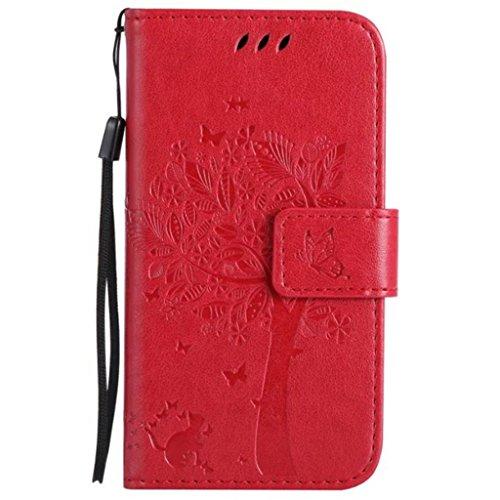 HUANGTAOLI Custodia in Pelle Portafoglio Flip Cover per Nokia Lumia 630