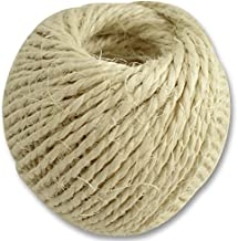 SISAL Twine Natural Large 75M Colour Beige Length 75m Material Sisal