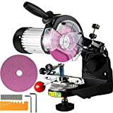 Mophorn Chainsaw Sharpener 230W, Professional Multi-Angle Adjustable Chain Grinder 3000RPM, Electric Chainsaw Blade Sharpener for 1/4' to 2/5' Chains
