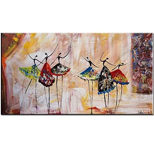 ATggqr Puzzle Adultos 1000 Piezas 50x75cm Bailarina de Ballet Abstracto Creativo Difícil Rompecabezas Intelectual Desafío Juegos de Rompecabezas para la Damilia