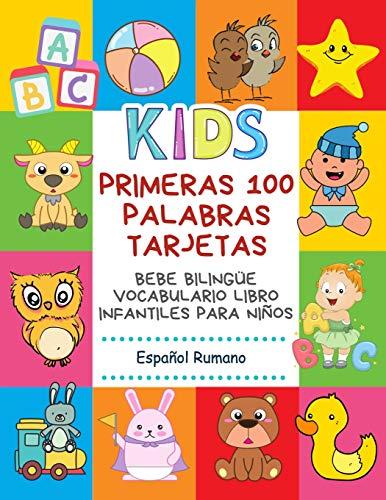 Primeras 100 Palabras Tarjetas Bebe Bilingüe Vocabulario Libro Infantiles Para Niños Español...