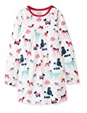 Hatley Girls' Casual, Colorful Pups, 2T (Toddler)