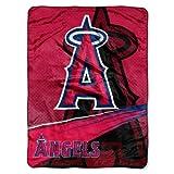 MLB Los Angeles Angels 'Speed' Raschel Throw Blanket, 60' x 80'