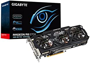 Gigabyte GV-R927XOC-2GD - Tarjeta Grafica AMD 270x (GDDR5, 2 GB, 256 bit, 2 DVI, 2 DP)