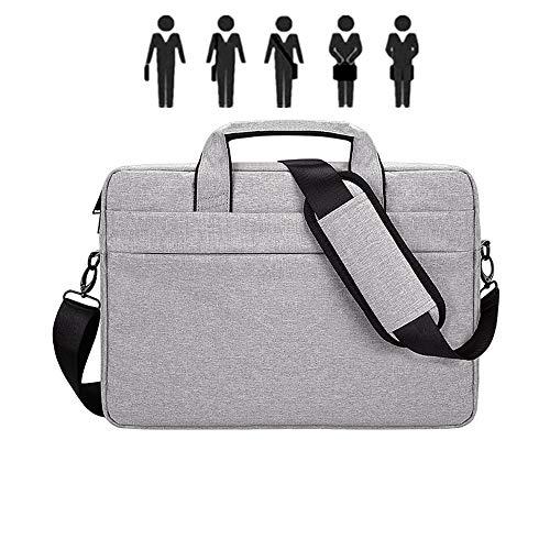 13\' 14\' 15\' Laptop-Tasche Reisetasche Aktentasche Mit Organizer Erweiterbare Großer Hybrid-Umhängetasche Wasserdicht Business Messenger Bag-in Notebooktasche Von Computern (Grey,15.6-inch)