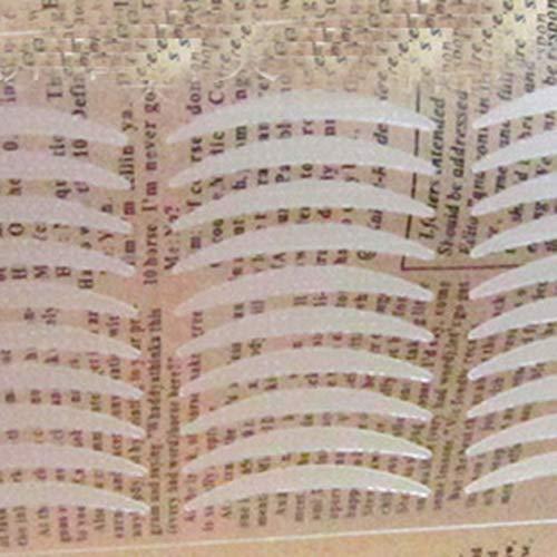 Professionnel Super Stick Simple Côté Paupière Bande Invisible Fibre Bande Étanche Respirant Bande de Paupière Maquillage Des Yeux Outils BCVBFGCXVB (couleur de la peau)