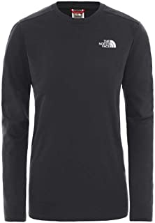 The North Face Women's W L/S Simpledome Tee Asphalt Grey Tee