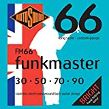 Rotosound FM66 Swing Bass 66 Stainless Steel Funkmaster Bass Guitar Strings (30-90)