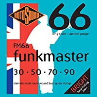 ROTOSOUND ROT-FM66 Funkmaster エレキベース弦