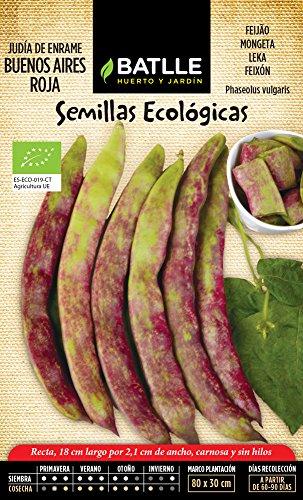 Semillas Ecológicas Leguminosas - Judía Buenos Aires Roja