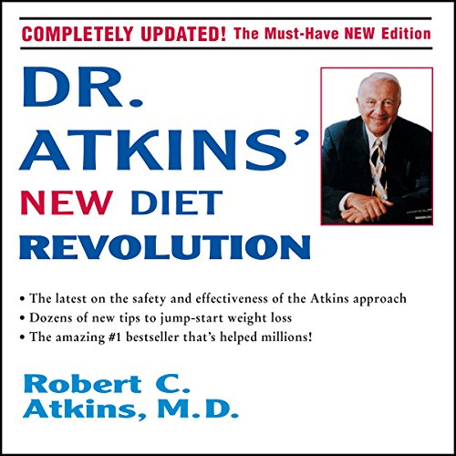 Dr. Atkins' New Diet Revolution audiobook cover art
