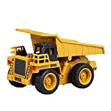 GUOGUO RC Truck 1:16 Mini Baustelle Spielzeug Baufahrzeuge Ferngesteuert für Kinder (Gabelstapler)