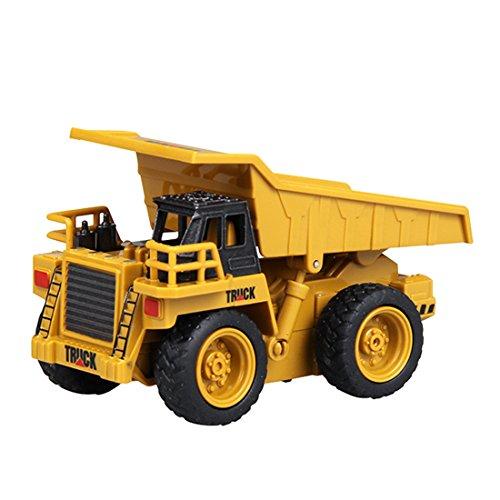 RC Auto kaufen LKW Bild: GUOGUO RC Truck 1:16 Mini Baustelle Spielzeug Baufahrzeuge Ferngesteuert für Kinder (Gabelstapler)*