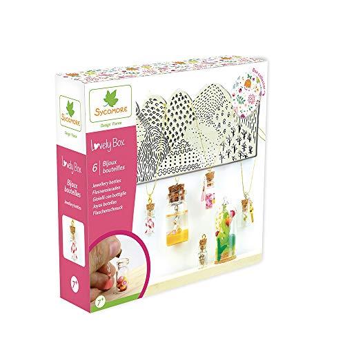 Kit de loisir créatif enfant - Bijoux bouteilles - 6...