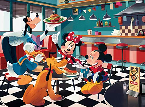 Ceaco Disney Friends Disney Diner Jigsaw Puzzle, 200 Pieces