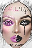 MakeUp Face Charts: A Bold Blank Paper Practice Face Chart For Professional Makeup Artists.vol (12)