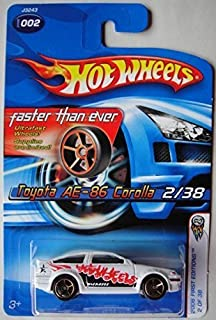 HOT WHEELS 2006 FIRST EDITIONS WHITE TOYOTA AE-86 COROLLA 2/38