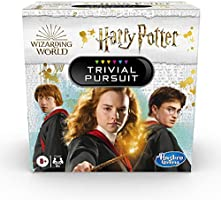 Hasbro Gaming Trivial Pursuit: Wizarding World Harry Potter Edition Compact Trivia Game for 2 or More Players, 600...