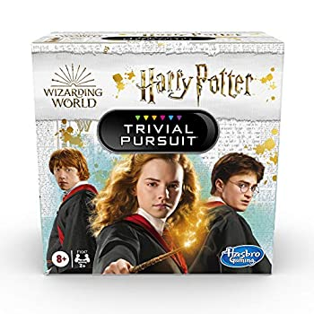 Hasbro Gaming Trivial Pursuit  Wizarding World Harry Potter Edition Compact Trivia Game for 2 or More Players 600 Trivia Questions Ages 8 and Up  Amazon Exclusive