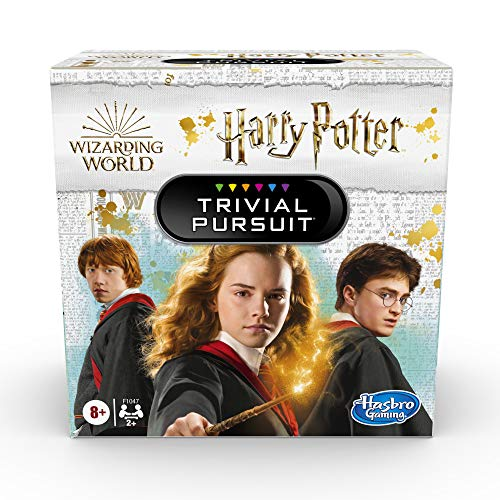 Hasbro Gaming Trivial Pursuit: Wizarding World Harry Potter Edition Compact Trivia Game for 2 or More Players 600 Trivia Questions Ages 8 and Up Amazon Exclusive