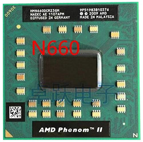 Phenom Dual-Core Mobile N660 HMN660DCR23GM 3.0Ghz Notebook CPU Laptop Processor