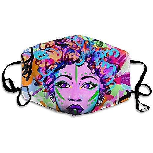 Frauen in Peking Opera Facial Cover, Gesichtsbedeckung