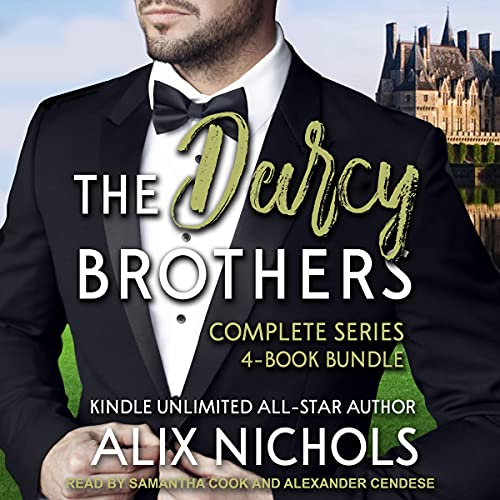 The Darcy Brothers Complete Series 4-Book Bundle Boxed Set cover art