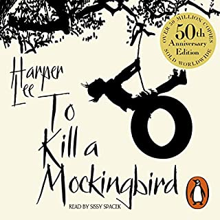 To Kill a Mockingbird                   Written by:                                                                                                                                 Harper Lee                               Narrated by:                                                                                                                                 Sissy Spacek                      Length: 12 hrs and 17 mins     24 ratings     Overall 4.6