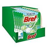 Bref Pro Nature Menta e Eucalipto, Detergente Profumatore In Pastiglie Igienizzante Bagno,...