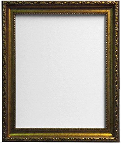 Frames by Post AP-3025 - Cornice per Foto 50 x 70 cm con Vetro in plastica, Oro, vetro;plastica