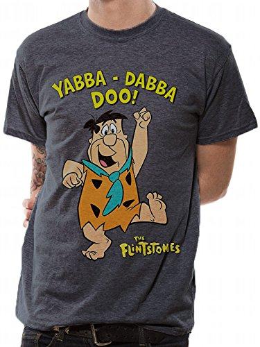 T-Shirt (Unisex-XL) Yabba Dabba Doo (Blue) [Import Anglais]